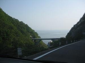 北リアス線と海を臨む.JPG